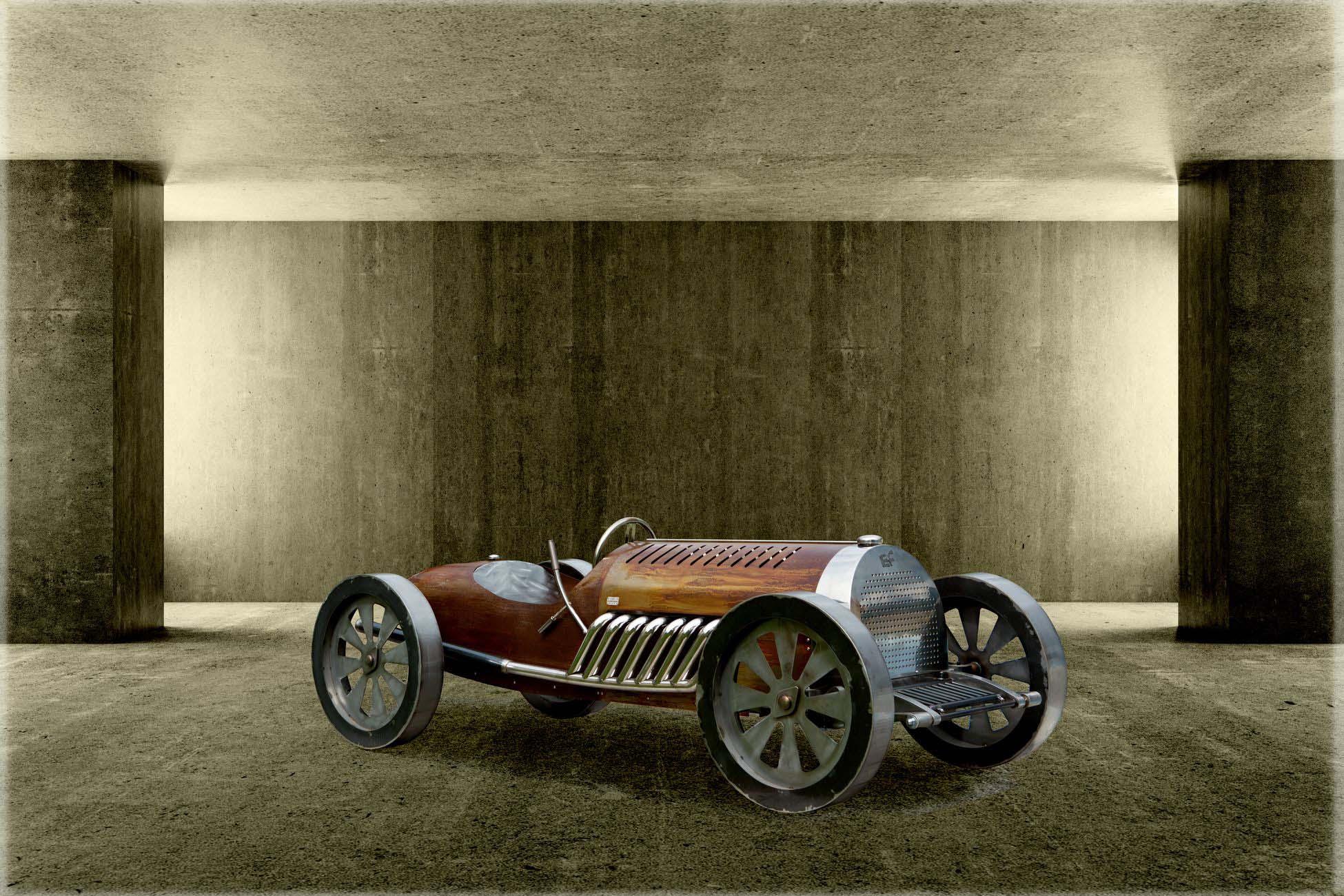 Sculpture Bugatti Eric Faure